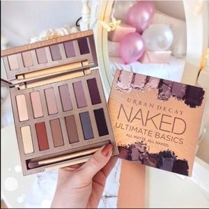 New Urban Decay Matte Naked Eyeshadow Palette
